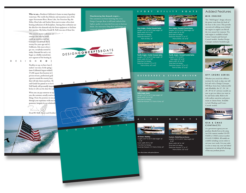Design Concepts brochure