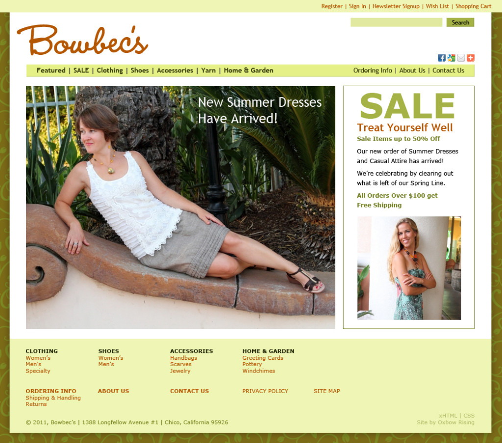 Bowbec's web