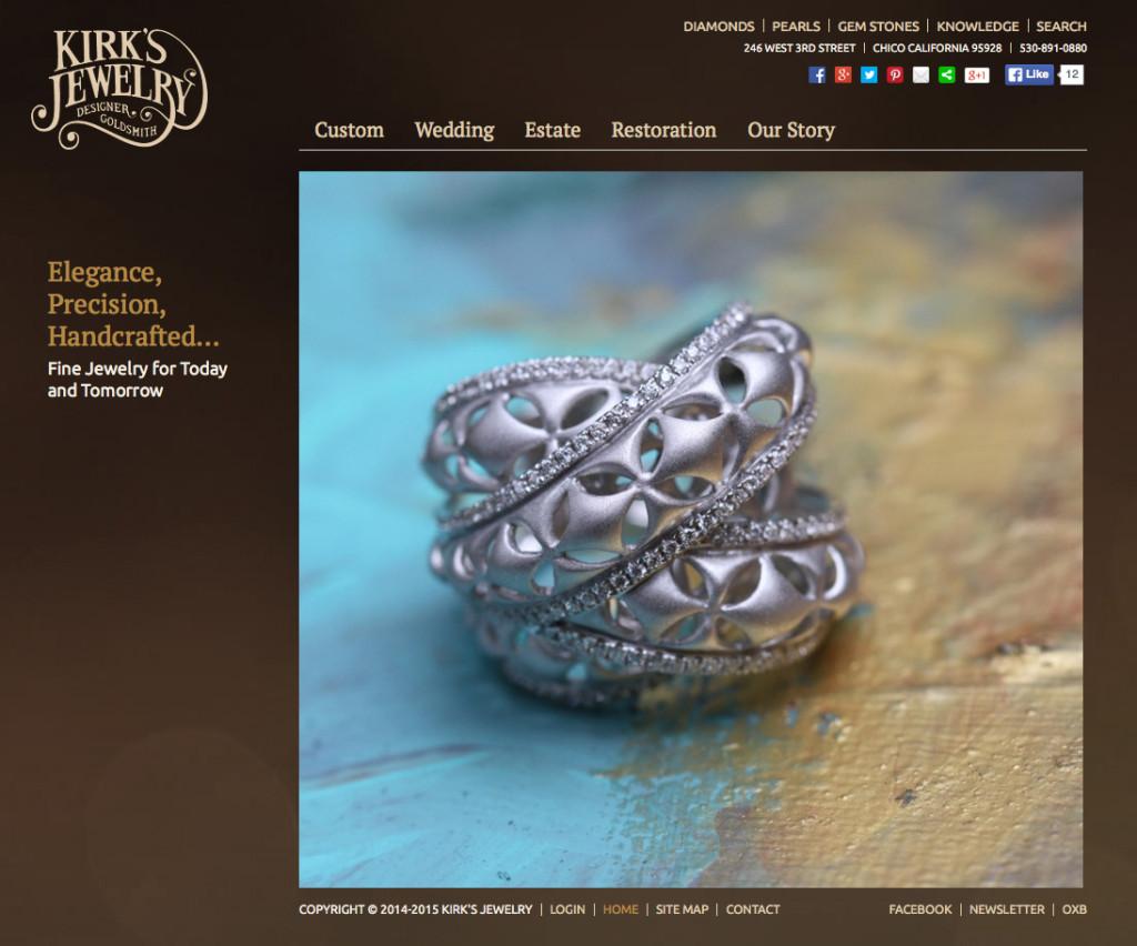 Kirk's Jewelry web